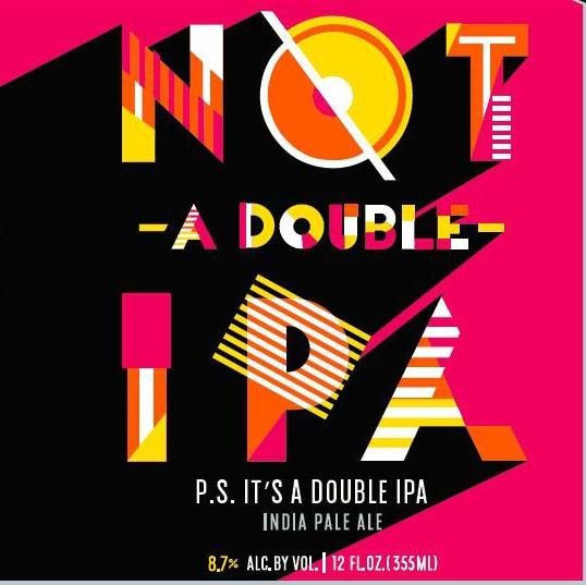 Appalachian Mountain Brewery 'Not-a-Double IPA' 12oz (Can)