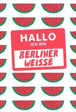 Mikkeller 'Hallo Ich Bin Berliner Weisse Watermelon' 16oz (Can)w