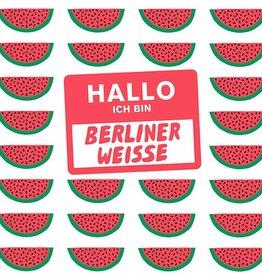 Mikkeller 'Hallo Ich Bin Berliner Weisse Watermelon' 16oz (Can)