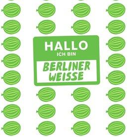 Mikkeller 'Hallo Ich Bin Berliner Weisse Gooseberry' 16oz (Can)