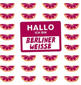 Mikkeller 'Hallo Ich Bin Berliner Weisse Blood Orange' 16oz (Can)