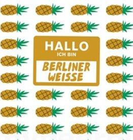 Mikkeller 'Hallo Ich Bin Berliner Weisse Pineapple' 16oz (Can)