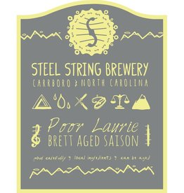 Steel String 'Poor Laurie' Brett Saison aged in Sauvignon Blanc Barrels 500ml