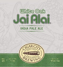 Cigar City 'White Oak Jai Alai' Oak-aged IPA 12oz (Can)