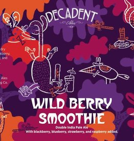 Decadent Ales 'Wildberry Smoothie' Double IPA 16oz (Can)