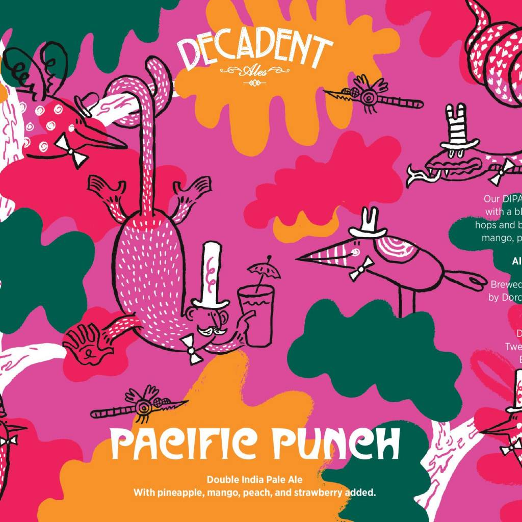 Decadent Ales 'Pacific Punch' Double IPA 16oz (Can)