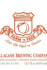 Allagash Brewing Co. 'Farm to Face' Sour Ale Aged on Peaches 375ml