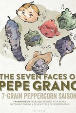 Haw River Farmhouse Ales 'The Seven Faces of Pepe Grano' 7-Grain Peppercorn Saison 16oz (Can)
