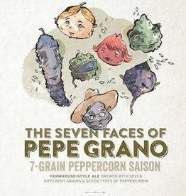 Haw River Farmhouse Ales 'The Seven Faces of Pepe Grano' 7-Grain Peppercorn Saison 16oz (Can)