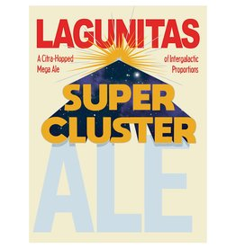 Lagunitas 'Super Cluster' Imperial IPA w/ Citra Hops 12oz Sgl