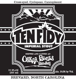 Oskar Blues 'Ten Fidy' Imperial Stout 12oz (Can)
