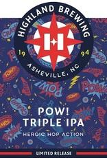 Highland Brewing Company 'POW!' Triple IPA 12oz Sgl