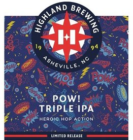 Highland Brewing Company 'POW!' Triple IPA 12oz Sgl