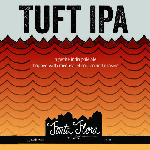 Fonta Flora Brewery 'Tuft' Petite IPA 16oz (Can)