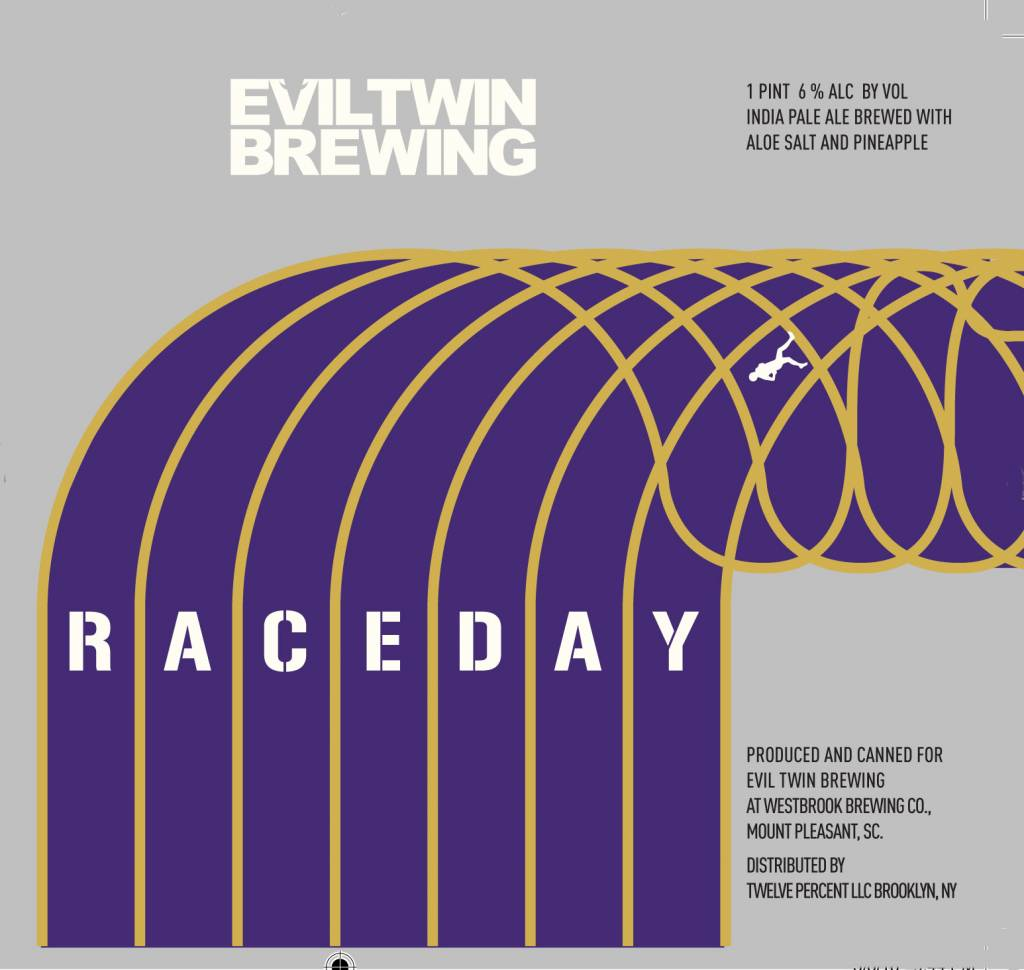 Evil Twin Brewing 'Race Day' IPA 16oz (Can)