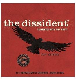 Deschutes 'The Dissident - 100% Brett' Oak aged ale w/ Cherries 22oz