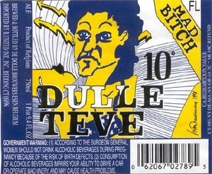 De Dolle 'Dulle Teve' 330ml