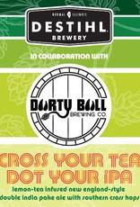 Destihl x Durty Bull 'Cross Your Tea' Lemon-Tea Infused New England-Style Double IPA 12oz (Can)