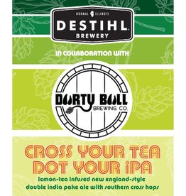Destihl x Durty Bull 'Cross Your Tea' Lemon-Tea Infused New England-Style Double IPA 12oz (Can)