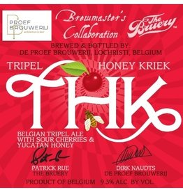 De Proefbrouwerij 'Tripel Honey Kriek' Belgian Tripel 750ml
