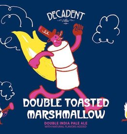 Decadent Ales 'Double Toasted Marshmallow' Double IPA w/ Natural Flavors Added 16oz (Can)