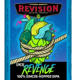 Revision 'Simcoe Revenge' Single-hop Double IPA 22oz