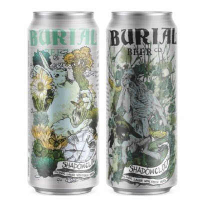 Burial Beer Co. 'Fresh Hop Shadowclock' Pilsner 16oz (Can)