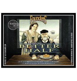 Founders Brewing Co. 'Curmudgeon's Better Half' Barrel-aged Old Ale 12oz Sgl