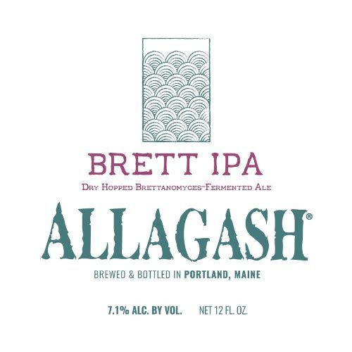 Allagash Brewing Co. 'Brett IPA' 12oz Sgl