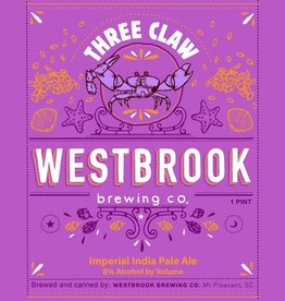 Westbrook 'Three Claw' Imperial IPA 16oz (Can)