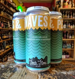 Fonta Flora Brewery 'Waves and Perms' Double IPA 16oz (Can)