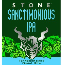 Stone Brewing 'Sanctimonious' IPA 12oz (Can)