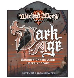 Wicked Weed 'Dark Age' Bourbon Barrel-aged Imperial Stout 375ml