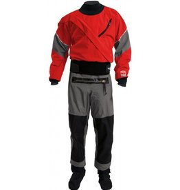 Kokatat Kokatat Men's Gore-Tex Meridian Drysuit with Relief Zipper-GMER Chili M