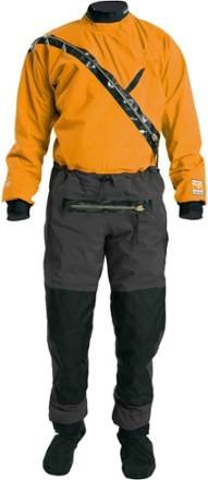 Kokatat Kokatat Men's Gore-Tex Meridian Drysuit with Relief Zipper-GMER Chili M