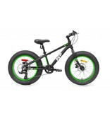 17 AVP Fat bike Junior 20po Noir/vert