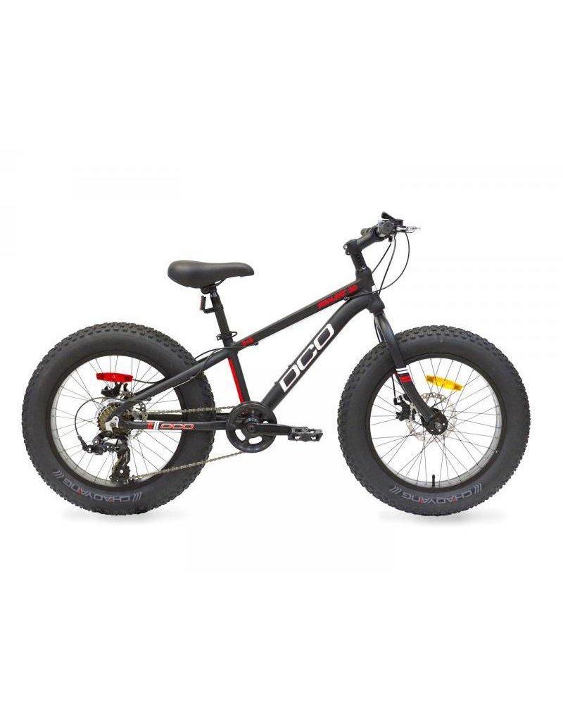 "17 DCO Realfat Noir Fat bike Junior 20"""