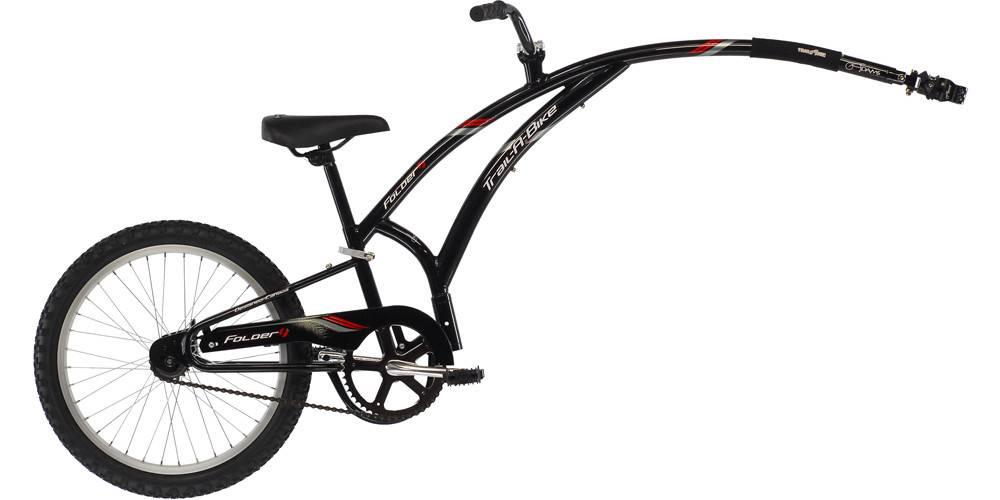 Trail-a-bike Adam's Noir