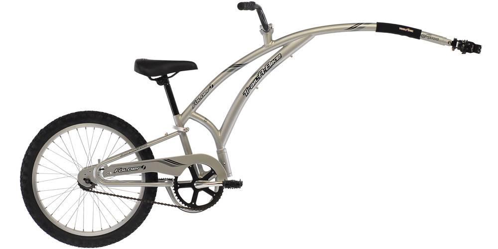 16 Trail-a-bike gris