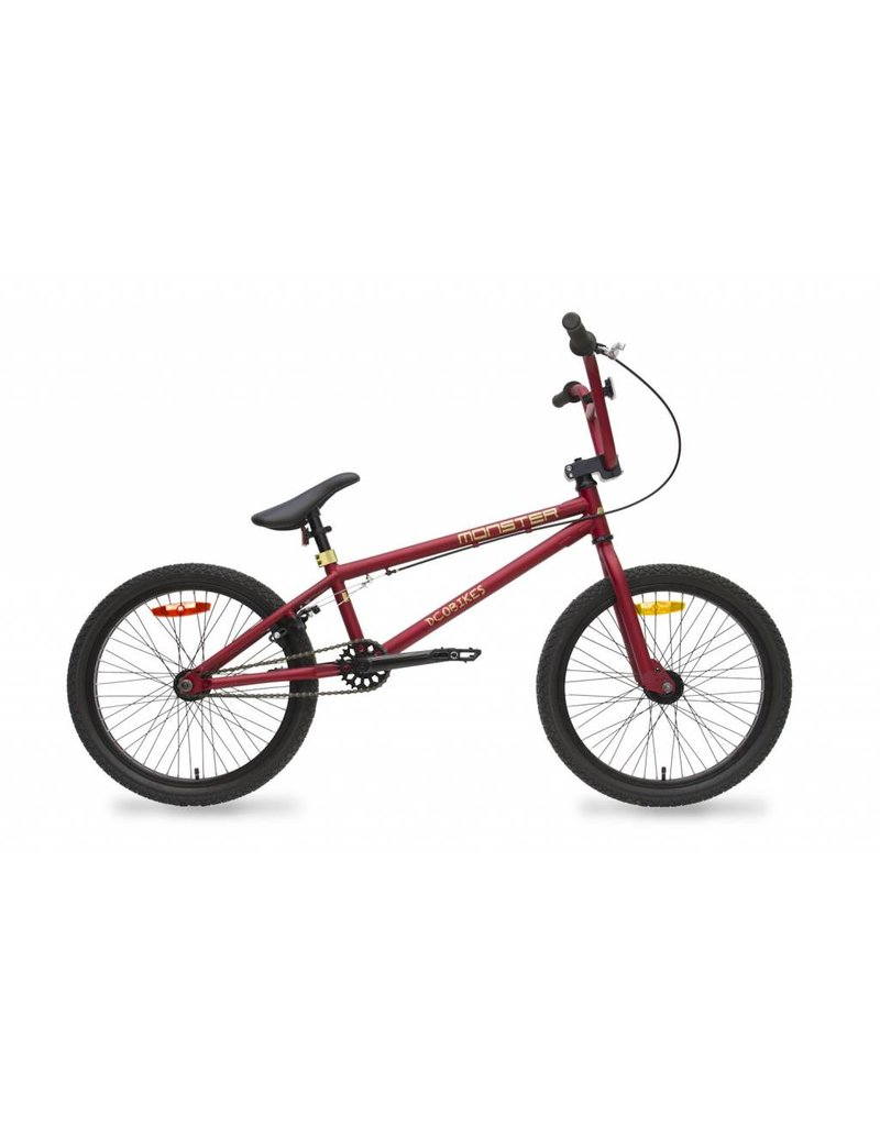 DCO 17 DCO Monster Rouge mat BMX