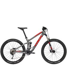 18 Trek Fuel EX 5 27.5+ Gris/Rouge