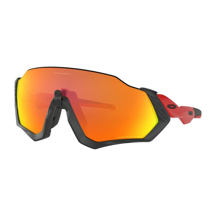Oakley Canada Lunette Oakley Flight Jacket Red Line / Priz Ruby Polarized
