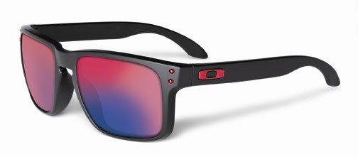 Oakley Canada Lunette Oakley Holbrook Matte Black w/+ Red Iridium