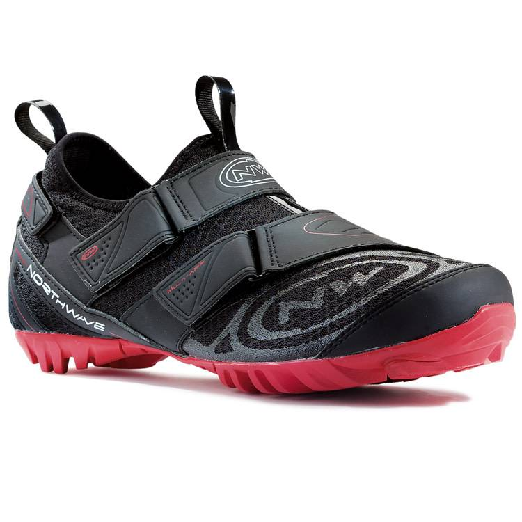 Northwave Chaussure Northwave cyclo-tourisme, Multi App noir / rouge