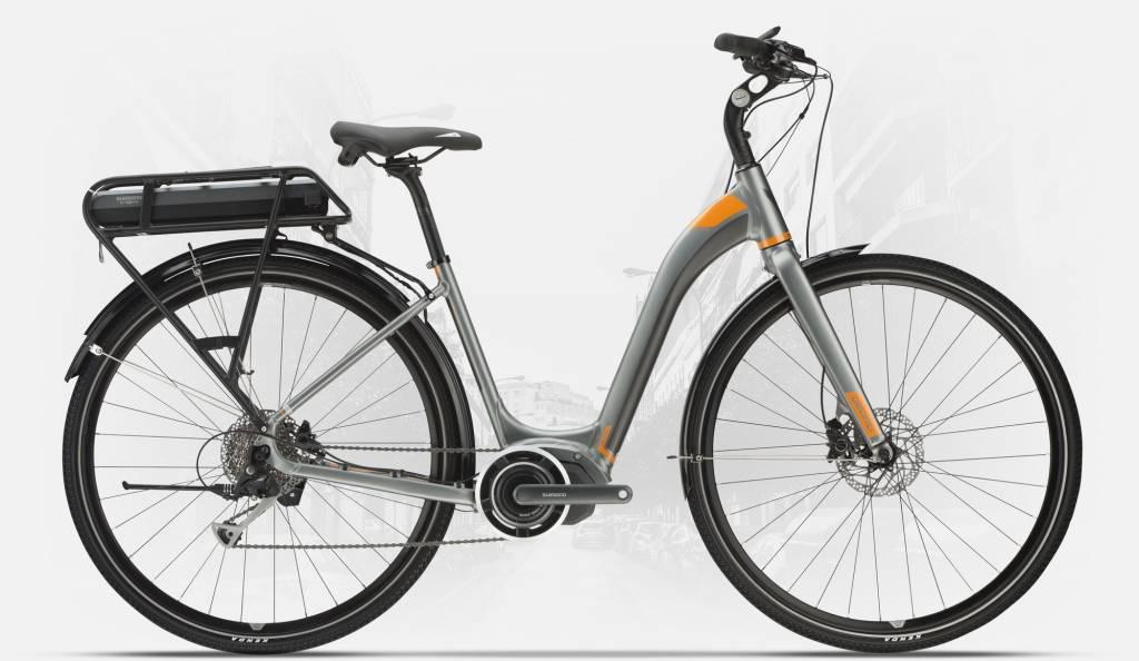 Devinci 18 Devinci E-GRIFFIN E6000 Gris / Orange