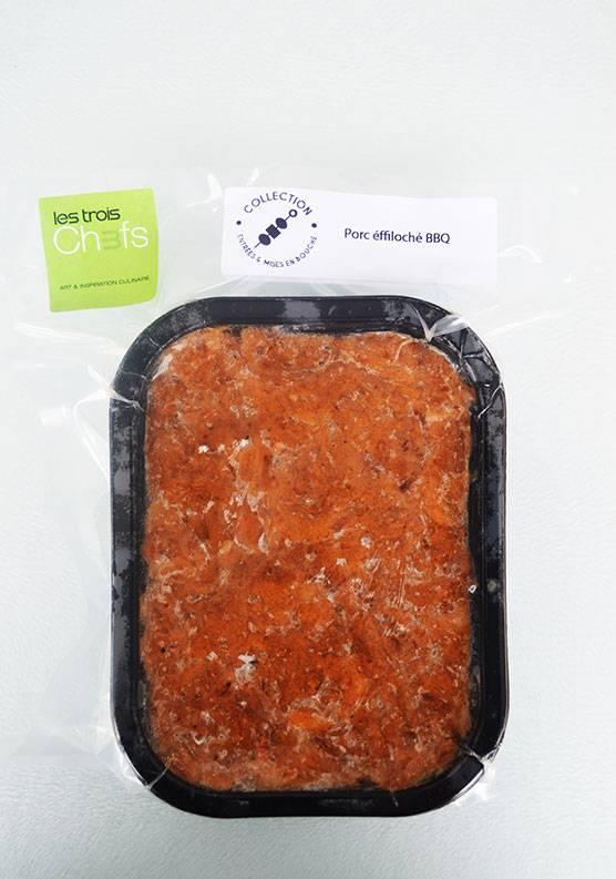 Porc effiloché BBQ