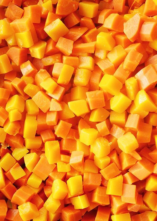 Courge musquée & carottes