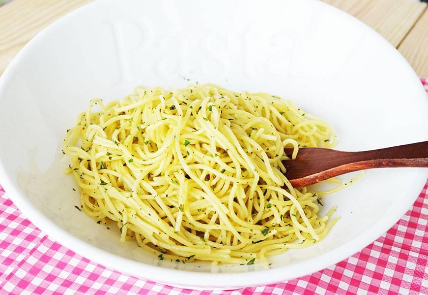 Pâtes au beurre & aux herbes