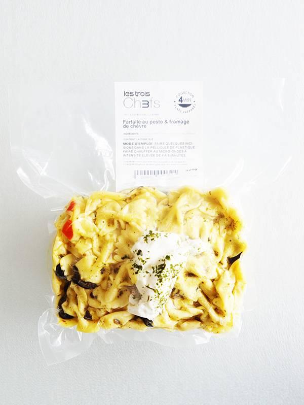 Farfalle au pesto & fromage de chèvre (325 g)