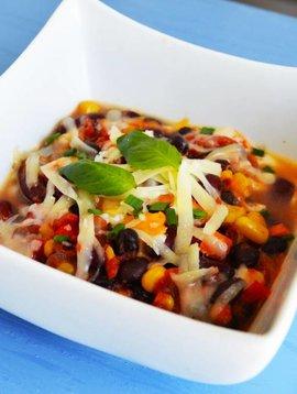 Chili végé aux légumineuses, cheddar & mozza (325 g)